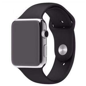 Other - ❤️NEW Black Sport Silicone Band For Apple Watch